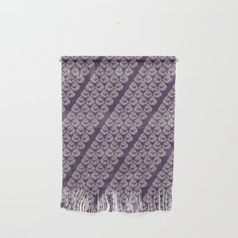 Purple drops Wall Hanging