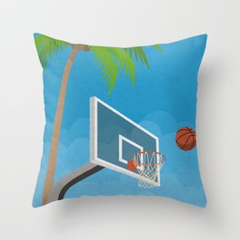 Basketball No. 2 Throw Pillow