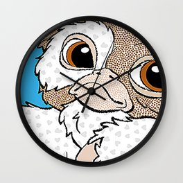 mogwai love Wall Clock
