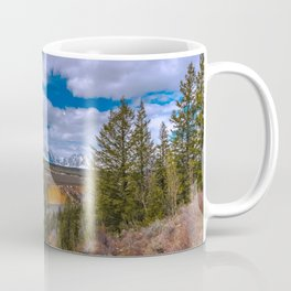 Tetons and the Snake River Coffee Mug
