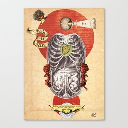 Thanatopsis: Sigil No. 2: A Note from Underground Canvas Print