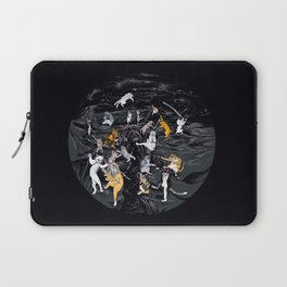 Meowlin Temple Laptop Sleeve