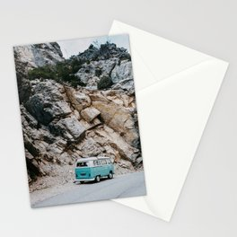Classic Campervan Adventures Stationery Cards