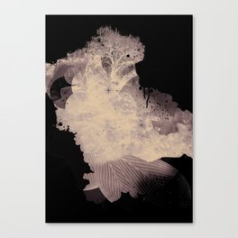 Black Nature Canvas Print