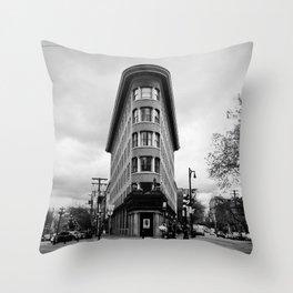 Hotel Europe Throw Pillow