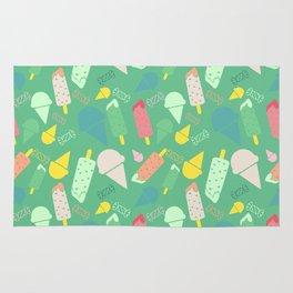 Ice Cream green Rug