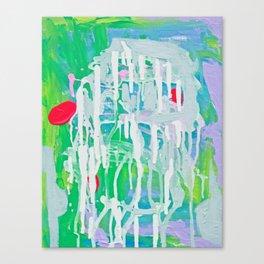 Pool Reflection Canvas Print