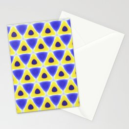 A sea of Triangles Stationery Cards