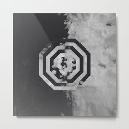 Pattern Drop II Metal Print
