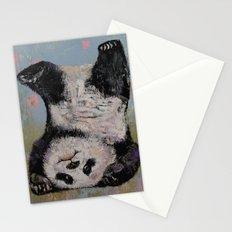 Panda Headstand Stationery Cards