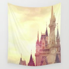 Disney Cinderella Castle Wall Tapestry