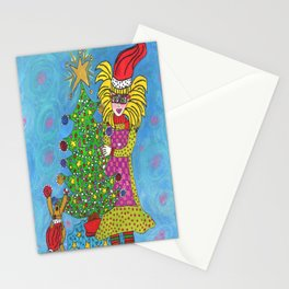 Christmas With Maisie and Daisy Stationery Cards