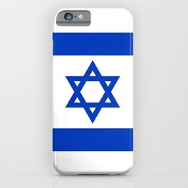 National flag of Israel iPhone Case
