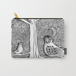 Springtime Birds Carry-All Pouch