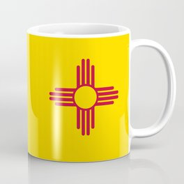 Flag of New Mexico - Authentic High Quality Image Coffee Mug