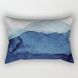 Water color landscape  Rectangular Pillow