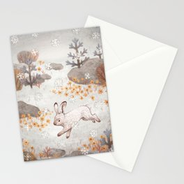 Arctic Hare Stationery Cards