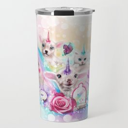 We All Just Want to be Unicorns Travel Mug