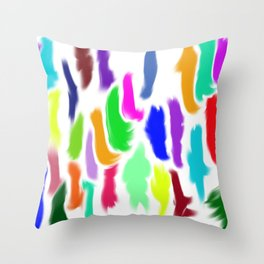 Colors of Humanity Throw Pillow