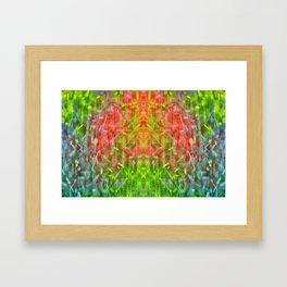 Hot Summer Rain Framed Art Print