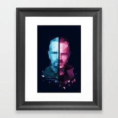 BREAKING BAD - White/Pinkman Framed Art Print