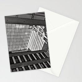 Modern Hamburg office building Stationery Cards