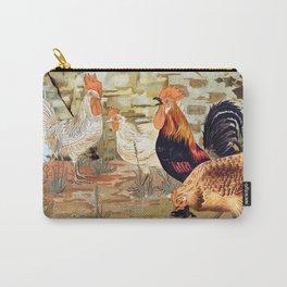 Maurice Pillard Verneuil - Coqs et poules from L'animal dans la décoration Carry-All Pouch
