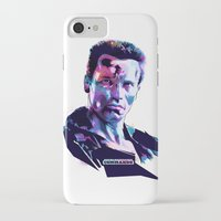 arnold iPhone & iPod Cases featuring Arnold Schwarzenegger: BAD ACTORS by Largetosti