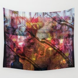 Knives And Pearls: The Black Fire Protests Wall Tapestry
