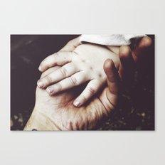 Hold My Hand Canvas Print