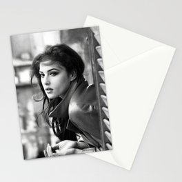 Monica Bellucci Stationery Cards
