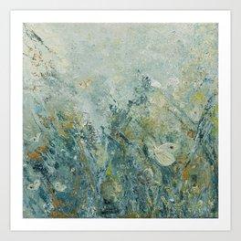Cabbage Butterflies Art Print