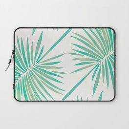 Tropical Fan Palm – Mint Palette Laptop Sleeve