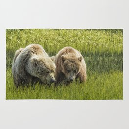 Eating Side by Side Rug