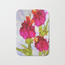 Fresh Tulips Bath Mat