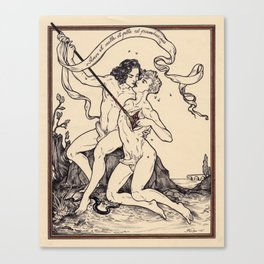 Love Is Rich With Both Honey And Venom Canvas Print