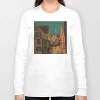jazzberry Long Sleeve T-shirts featuring Evening by Megs stuff