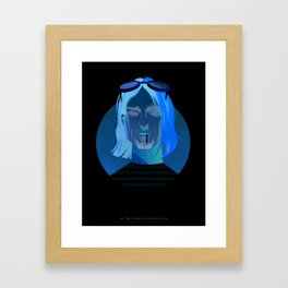 Nevermind Framed Art Print
