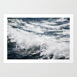Crashing Ocean Wave Art Print