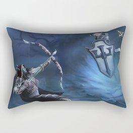 Sylvanas vs Johanna Rectangular Pillow