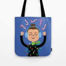 Holiday with Candy Tote Bag