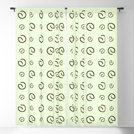 Antic pattern 17- from LBK green Blackout Curtain