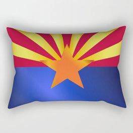 Arizona State Flag Gloss Rectangular Pillow