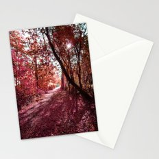 towards the light Stationery Cards