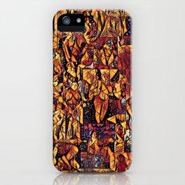 Timeless Fantasies of the Calendar Goddess iPhone Case