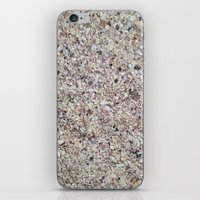 shells iPhone & iPod Skins featuring Shells by Rikku Starr