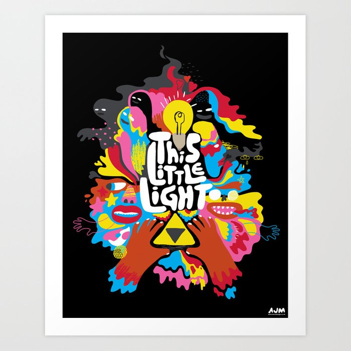 'This Little Light' Giclee Print Art Print