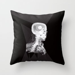 X-Rays and Triangles Throw Pillow