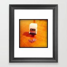 Foreign Contaminant. Framed Art Print