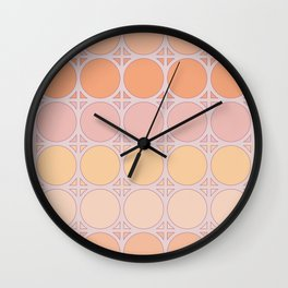 Lilac Connection Wall Clock
